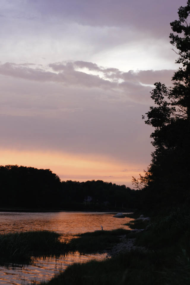 sunset Bar Harbor Maine