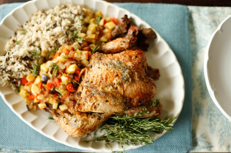 baked rosemary chicken