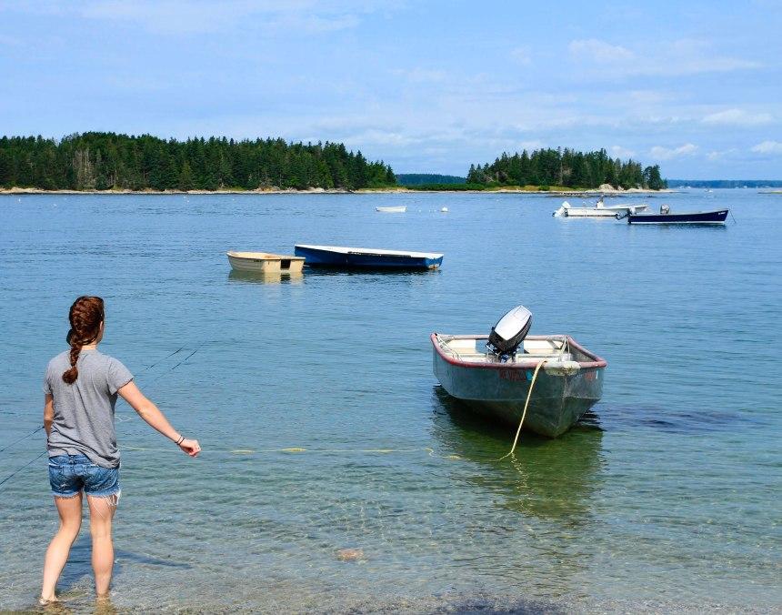 Maine skiff