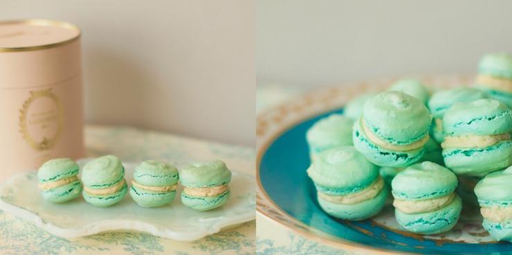 Marie Antoinette macarons