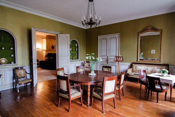 french abbey dining room