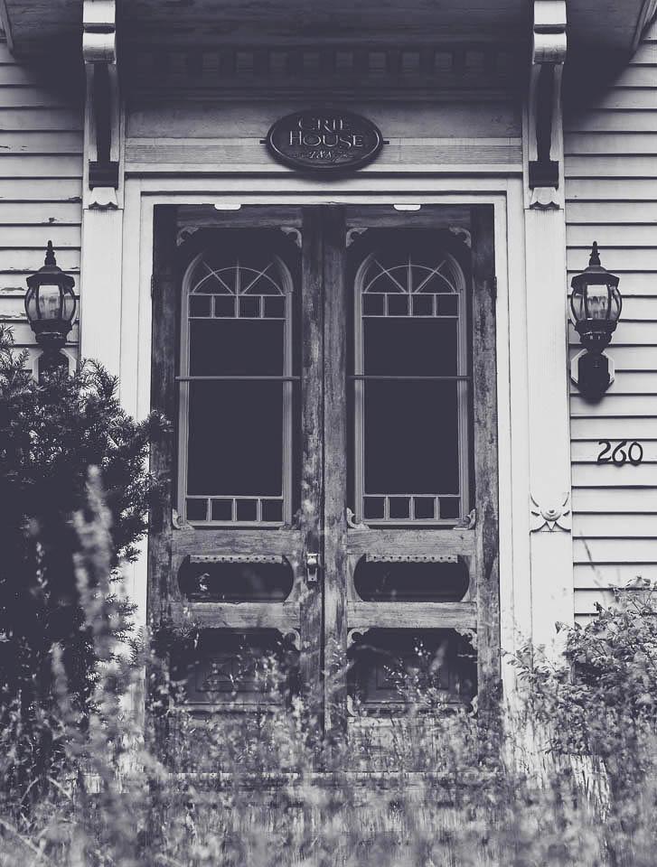 Maine farmhouse doors