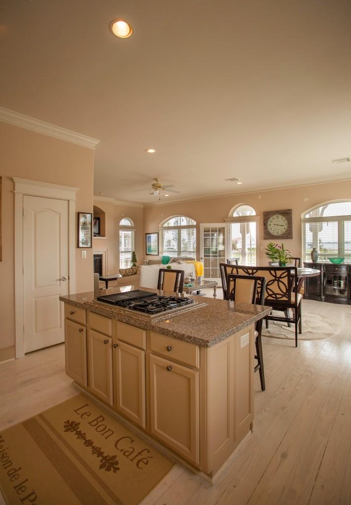 Coastal kitchen interiors